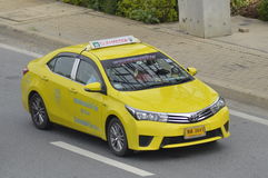 Thaise Taxi Royalty-vrije Stock Afbeelding