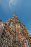 Thaise Tempel, bij wat Chaiwatthanaram, Ayutthaya Stock Foto's
