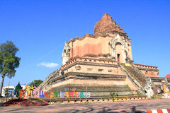 Thaise tempel in chiangmai, Thailand Royalty-vrije Stock Foto