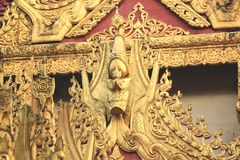 Thaise Tempel Penang Royalty-vrije Stock Foto's