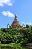 Thaise tempel, Phasornkaew-Tempel in Thailand Stock Foto's