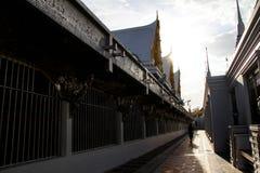 Thaise tempelachtergrond Royalty-vrije Stock Fotografie
