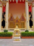Thaise Tempelarchitectuur Stock Foto