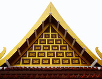 Thaise Tempelarchitectuur Royalty-vrije Stock Afbeelding