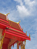 Thaise Tempelarchitectuur Stock Foto's