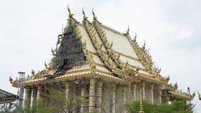 Thaise tempelbouw Royalty-vrije Stock Afbeelding