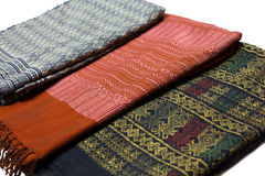 Thaise textiel Royalty-vrije Stock Fotografie