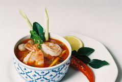 Thaise Tom Yum Stock Afbeeldingen