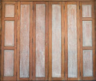 Thaise traditionele antieke deur Royalty-vrije Stock Fotografie