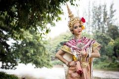 Thaise traditionele dans Royalty-vrije Stock Foto's