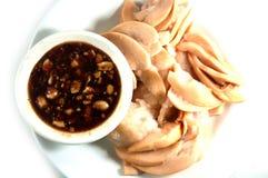 Thaise traditionele het dessertstijl van het Santolfruit Stock Afbeeldingen