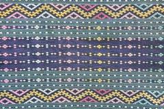 Thaise Traditionele Katoenen Doek Stock Afbeelding