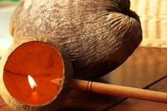 Thaise uitstekende gietlepel Stock Foto