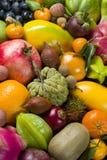Thaise verse vruchten stock foto's