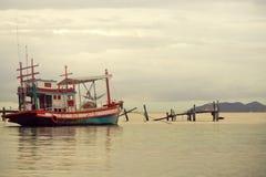 Thaise vissersboot Royalty-vrije Stock Foto