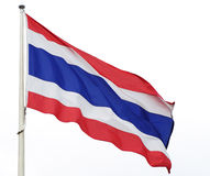 Thaise vlag Stock Afbeeldingen