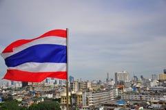 Thaise Vlag Stock Fotografie