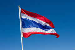Thaise Vlag royalty-vrije stock foto