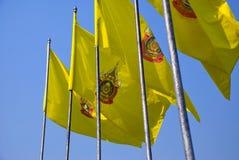 Thaise vlaggen Stock Afbeeldingen