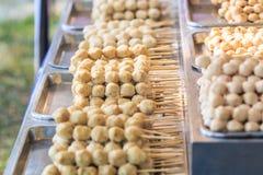 Thaise vleesbal Royalty-vrije Stock Afbeeldingen