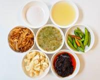 Thaise voedselcomponenten. Stock Afbeeldingen