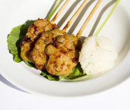 Thaise voedselstijl Royalty-vrije Stock Afbeelding
