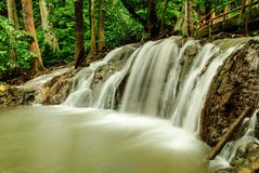 Thaise waterval Stock Foto's