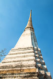 Thaise witte pagode Stock Fotografie