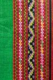 Thaise zijdeachtergrond Royalty-vrije Stock Afbeelding