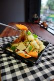 Thaise zure salade Royalty-vrije Stock Foto's