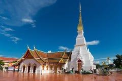 Thaitemple Wat Pratat Choeng Chum, Sakonnakorn, Tailândia Imagem de Stock