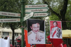 Thaksin Shinawatra Royalty Free Stock Photos