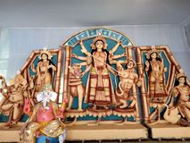 Thakur идола Durga мам Стоковое Изображение