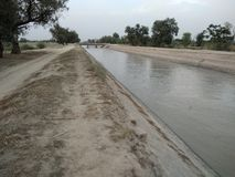 Thal运河Bhakkar 免版税库存照片
