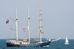 Thalassa - Sailing vessel Royalty Free Stock Photos