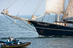 Thalassa vessel Royalty Free Stock Image