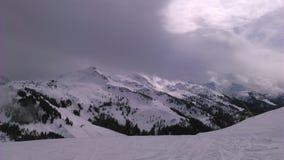 Thale de Brixen im, estância de esqui austríaca imagem de stock