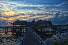 Thale Noi Ταϊλάνδη στοκ εικόνες