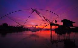 Thale Noi水鸟公园 免版税图库摄影