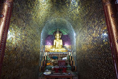Thale Oo kloster Arkivbild