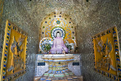 Thale Oo Monastery. A buddha image at the Thale Oo Monastery, Inle Lake, Myanmar Royalty Free Stock Images