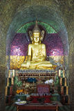 Thale Oo Monastery. A buddha image at the Thale Oo Monastery, Inle Lake, Myanmar Stock Photos