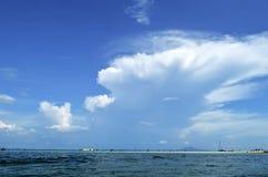Thale Waek μεταξύ του νησιού Tup και του νησιού κοτόπουλου σε Krabi Στοκ εικόνες με δικαίωμα ελεύθερης χρήσης
