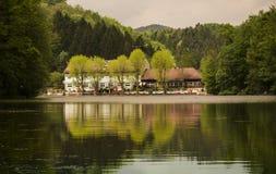 Thalersee湖 图库摄影