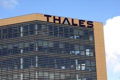 Thales Group Company Imágenes de archivo libres de regalías