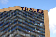 Thales Group Company Royalty Free Stock Images