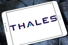 Thales logo Royalty Free Stock Image
