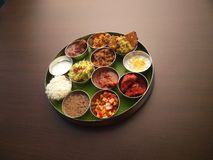 Thali stock images