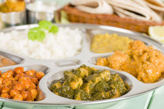 Thali Royalty Free Stock Image
