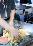 Thalli que fazem, tacos Imagem de Stock Royalty Free